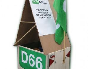 Fietskar D66 Heiloo
